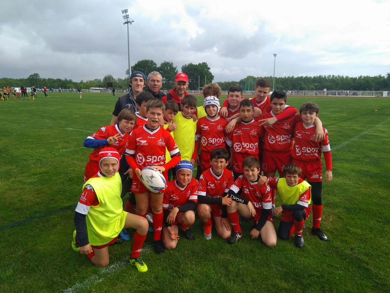 Ecole de rugby : Reprise de l'entraînement