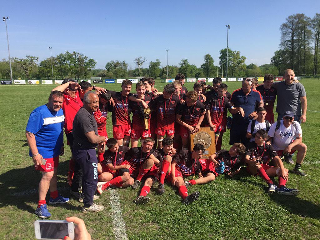 Teulière A : champions du Comité Côte d'Argent !