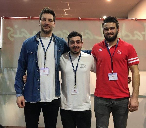 L'interview de la semaine : Alex Billoin, Simon Mancebo & Antoine Thomas