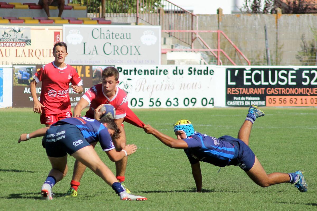U19 : Match amical Stade Langonnais – Castillon