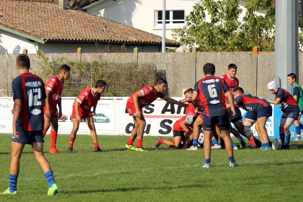 National U18 : Stade Langonnais 08 – 13 Tyrosse