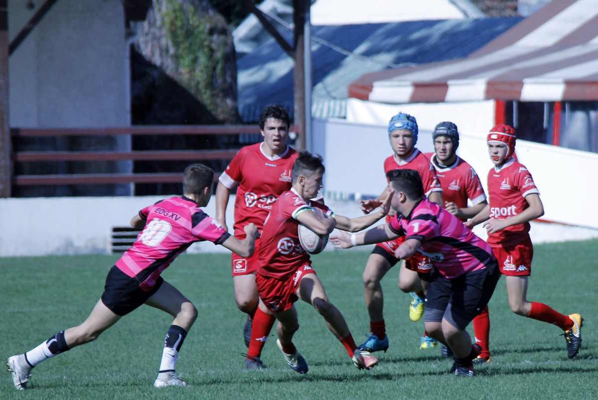 National U16 : Stade Langonnais 27 – 0 Entente des Graves