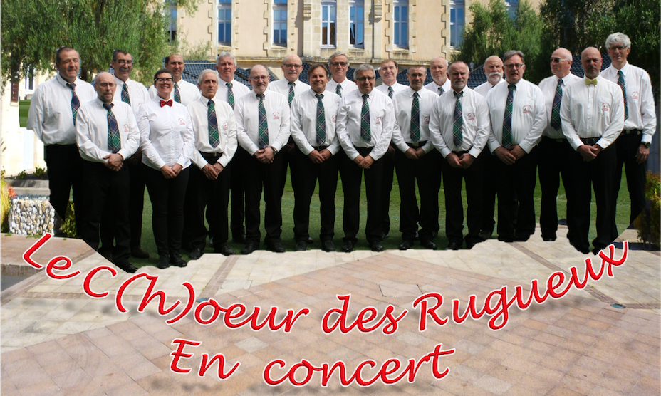 Le C(h)oeur des Rugueux en concert !