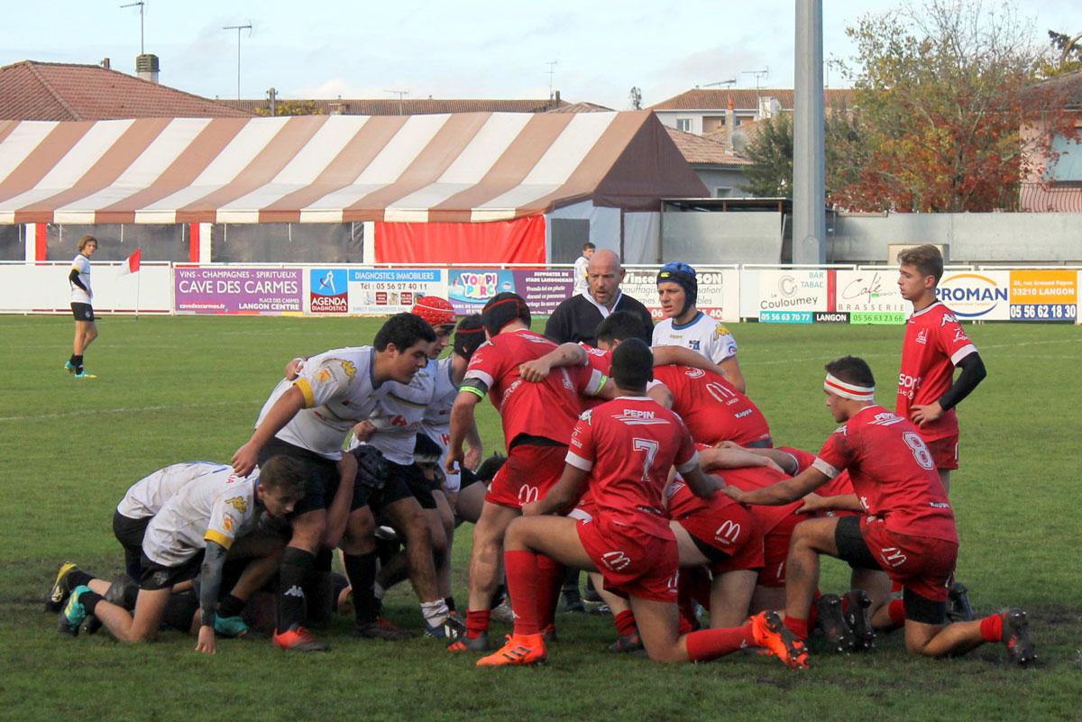 National U18 : Stade Langonnais – RCBA en images