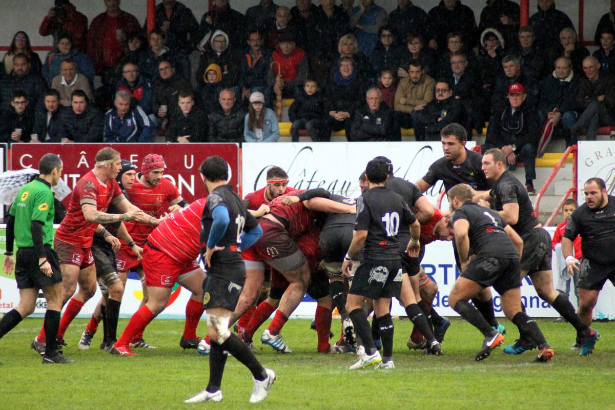 Stade Langonnais – RCBA : compte rendu du match