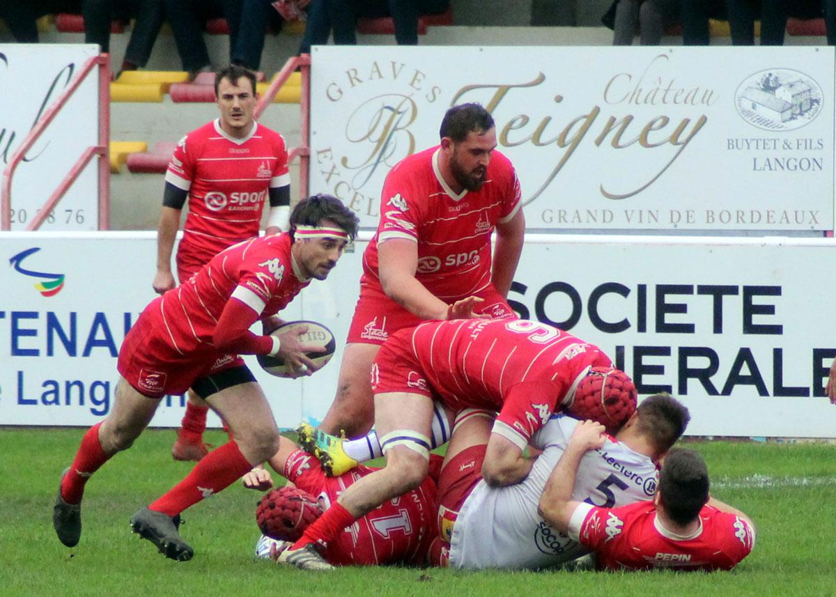 Compte rendu : Stade Langonnais – Niort Rugby Club