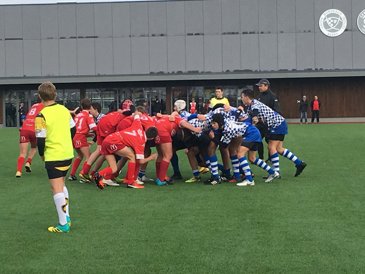 Ecole de Rugby : retour sur le plateau des U14 à Bègles !