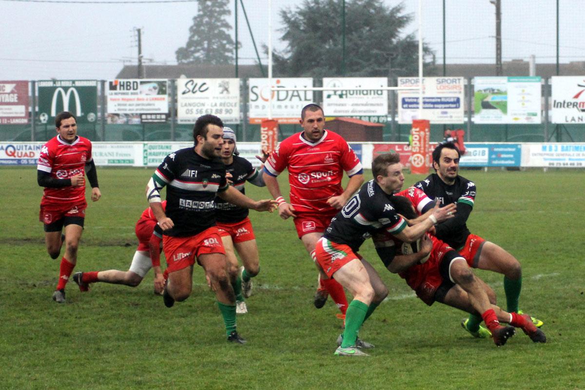 Yann Dessis : parrain des rugbytots sur Langon