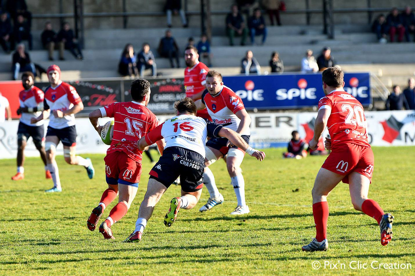 Union Cognac Saint-Jean – Stade Langonnais : compte rendu du match