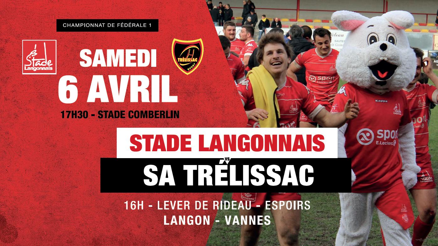 Stade Langonnais – SA Trélissac : Repas des Barriquades !