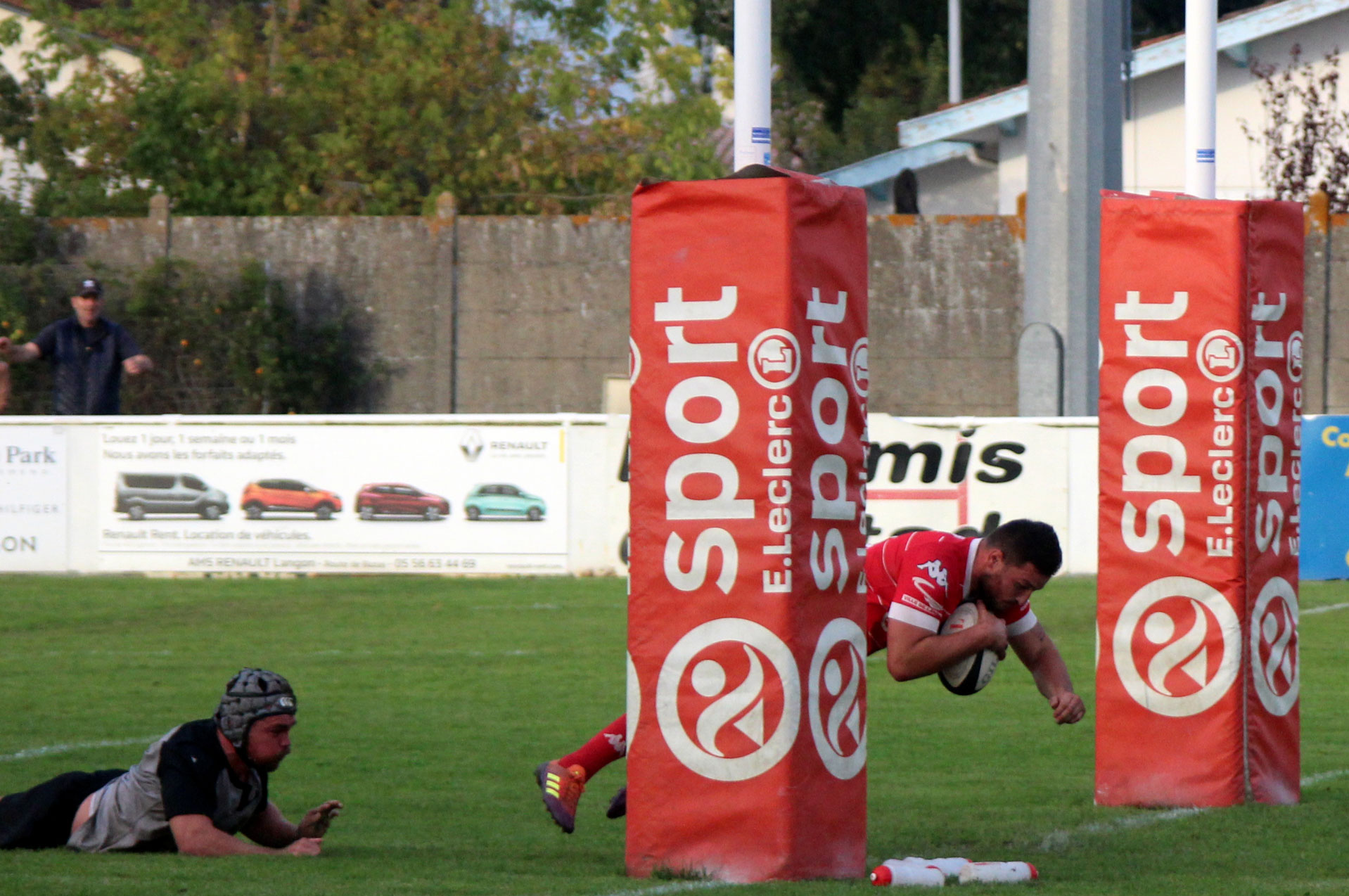 Compte rendu de match : Stade Langonnais – Boucau Tarnos