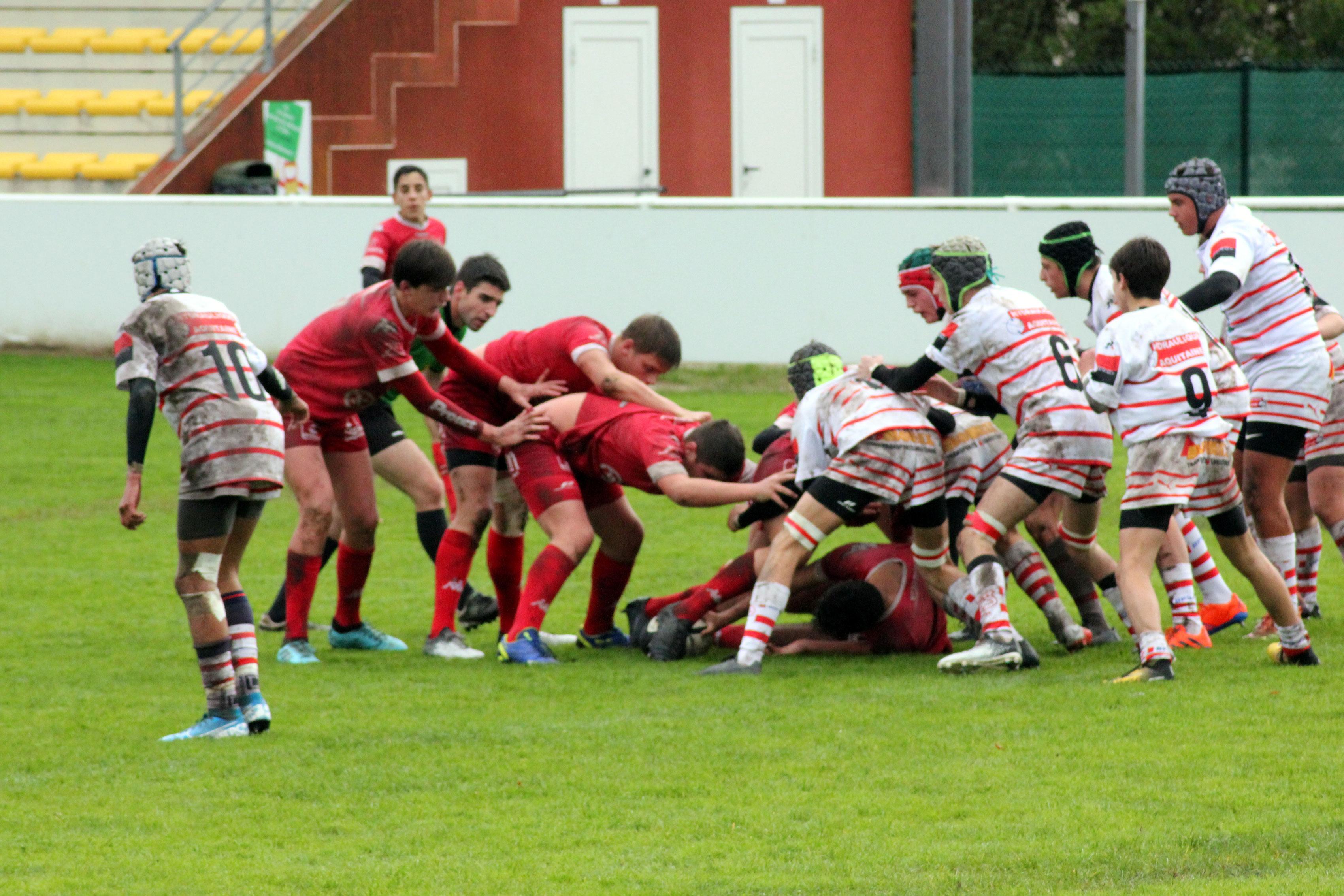 U16 : Stade Langonnais – US Salles