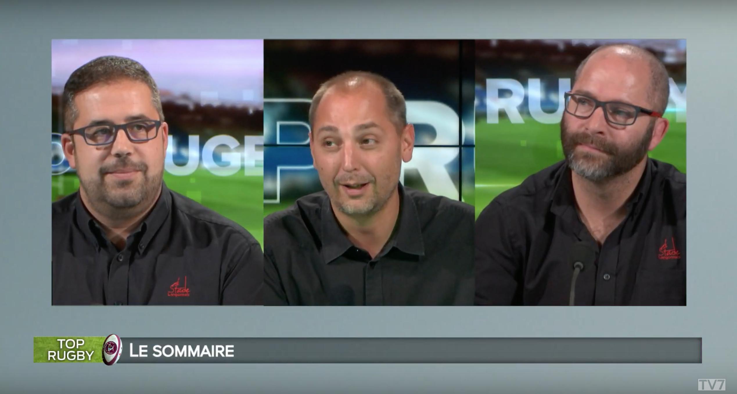 Replay Top Rugby : Julien Perrot et Sylvain Goujard