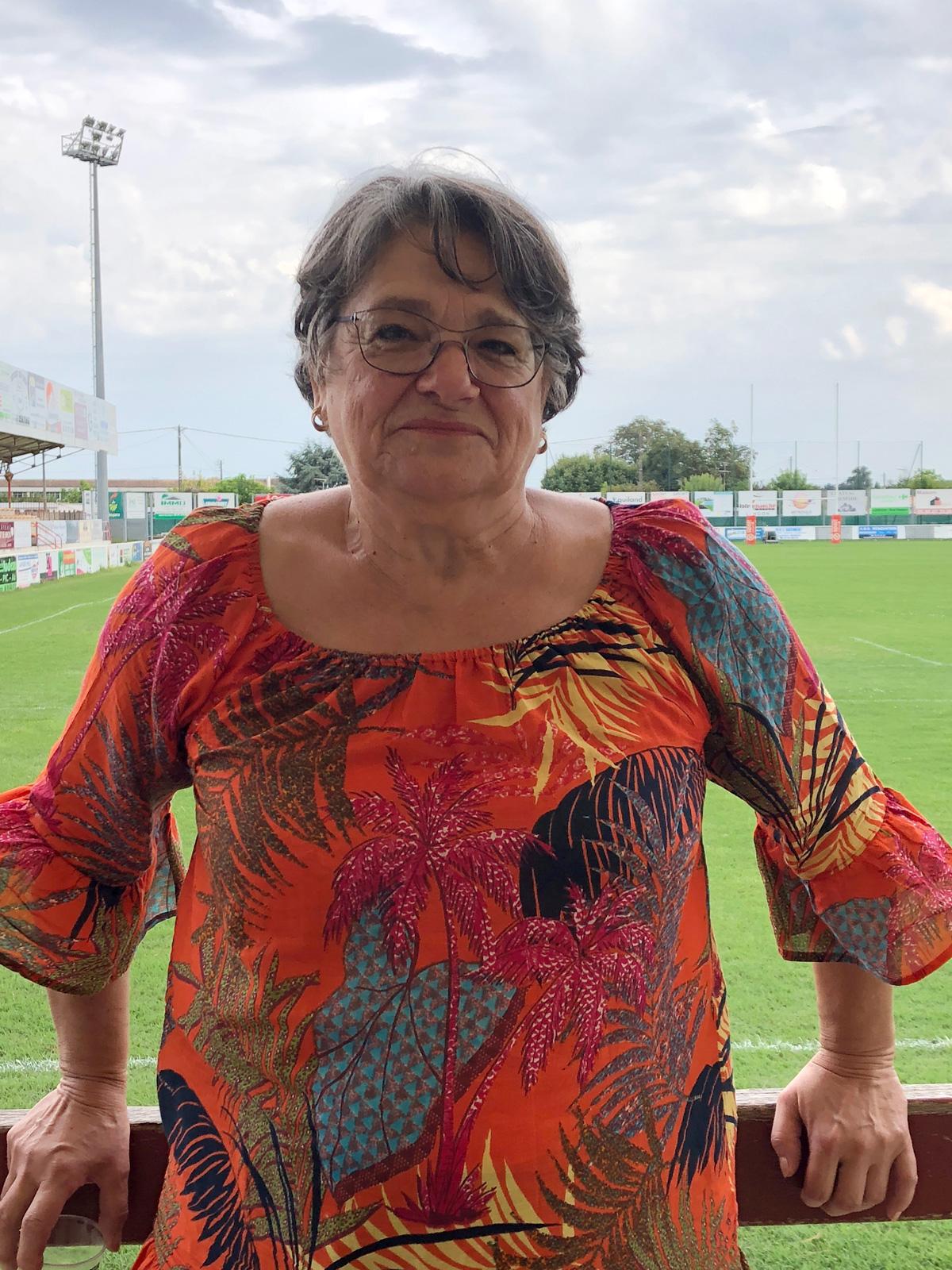 Dans la caste des bénévoles : Sylvie Lacampagne