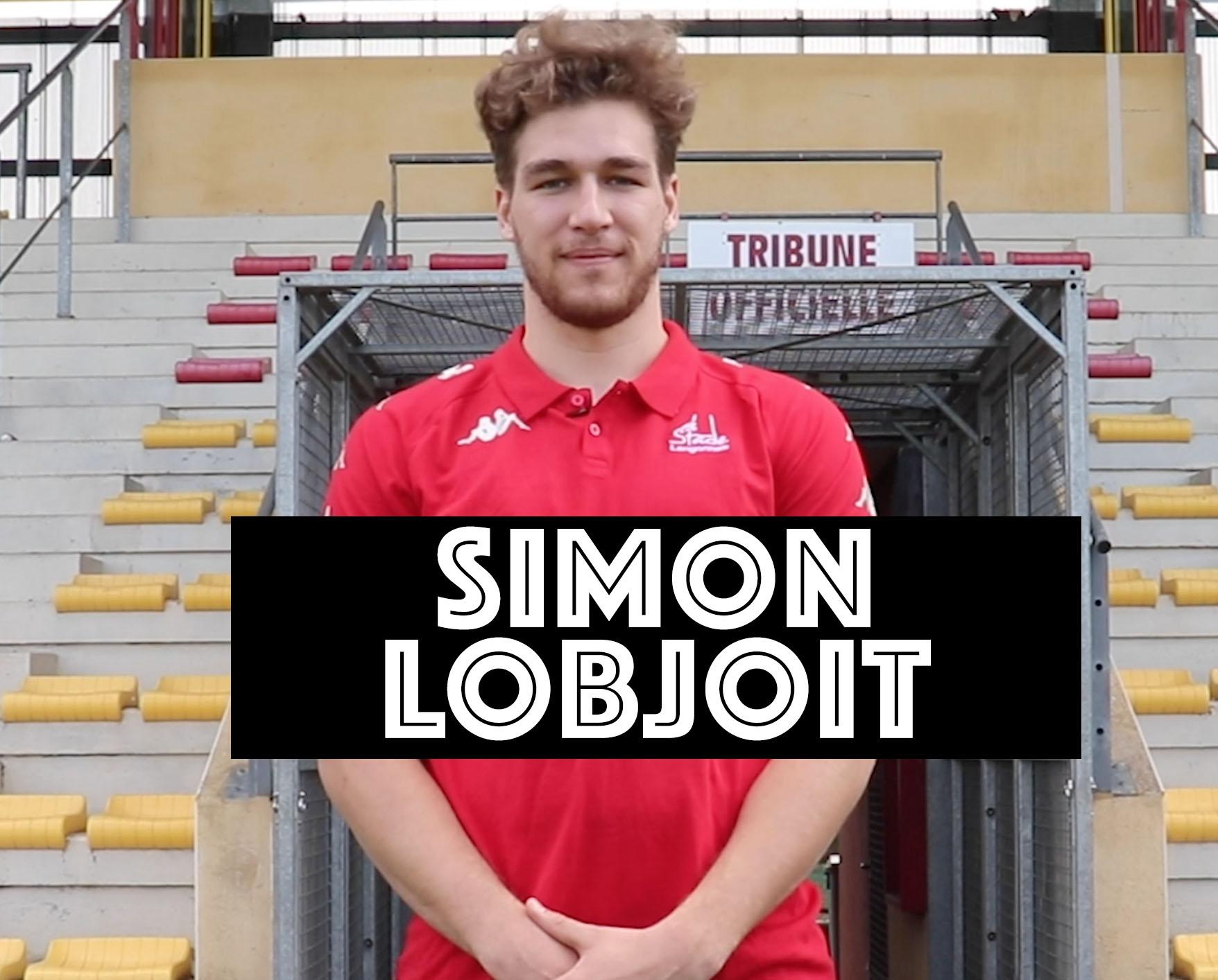 L'aérien Simon Lobjoit vient chercher une place de titulaire