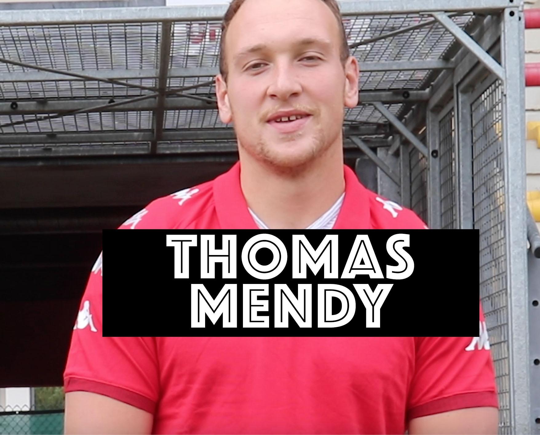 Thomas Mendy, autre ancien Biarrot à signer au Stade