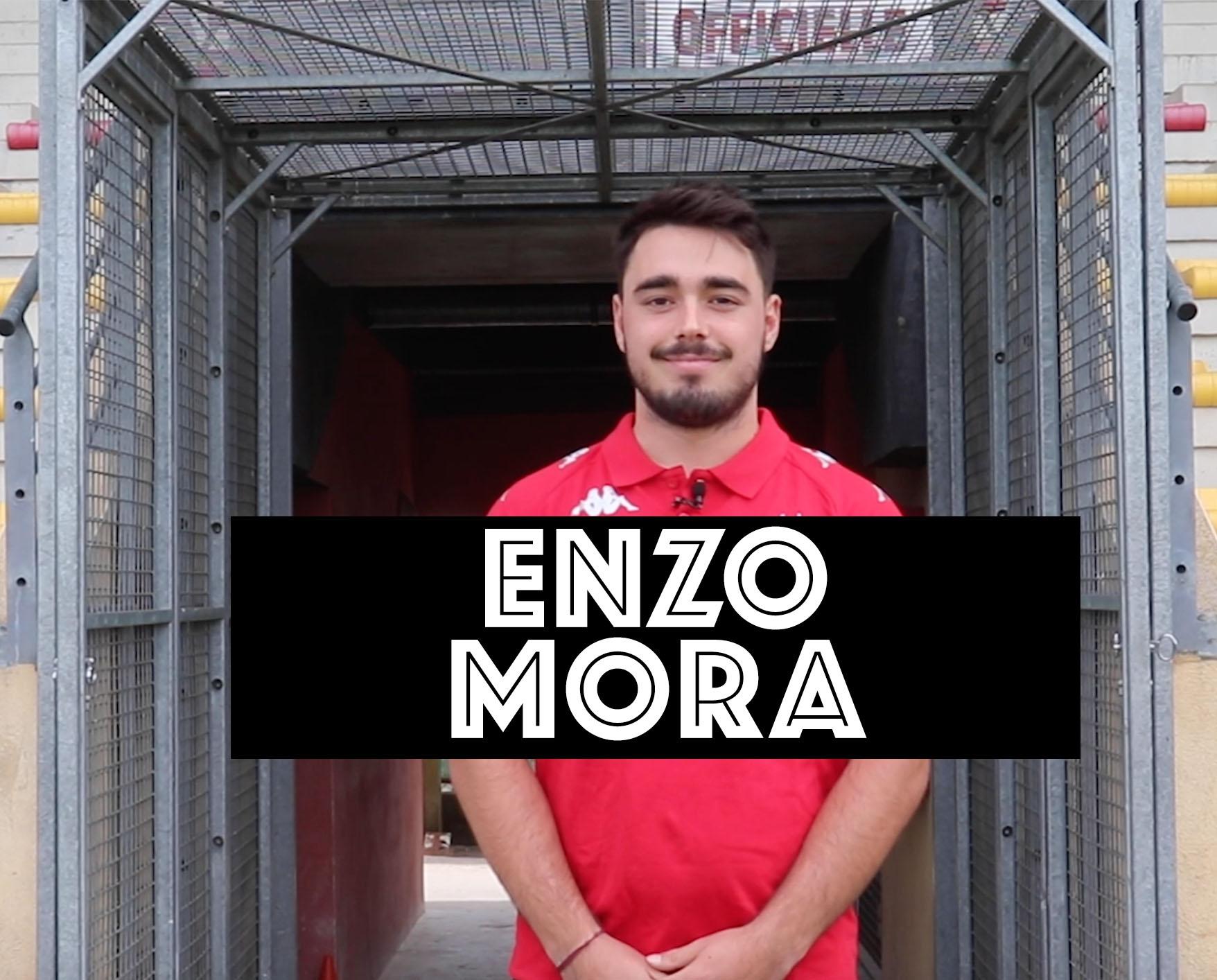 Enzo Mora veut prouver qu'il y a du talent